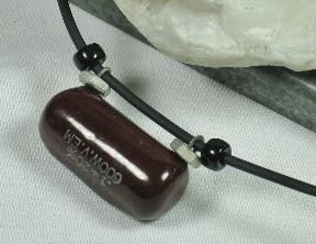vintage capacitor artisan necklace